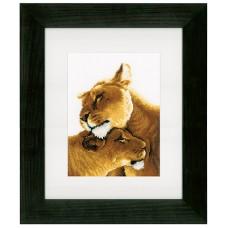 Набор для вышивания  Львы