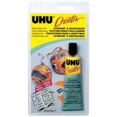 Клей UHU Креатив для пенополистирола и фольги, 33 мл