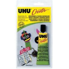 Клей UHU Креатив для пенорезины и других эластичных материалов, 33 мл
