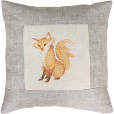 Набор для вышивания  подушка Лиса, Luca-S