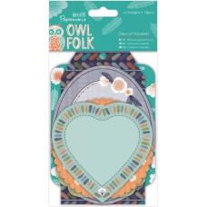 Набор высеченных элементов Owl Folk