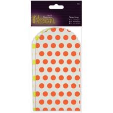 Набор декоративных мини конвертиков Yellow & Orange Neon