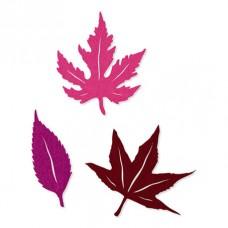 Набор декоративных элементов Листья, 6 шт