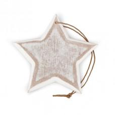Декоративная подвеска в стиле шебби Звезда