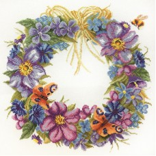 Набор для вышивания Цветы лета