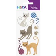 Наклейки Кошки, набор элементов