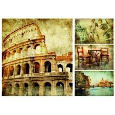 Рисовая бумага А3 Римские каникулы