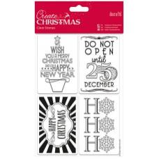Набор штампов Подарочные бирки Create Christmas