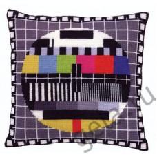 Набор для вышивания , подушкаТелеэкран