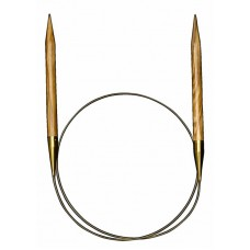 Спицы круговые из оливкового дерева №5, 80 см