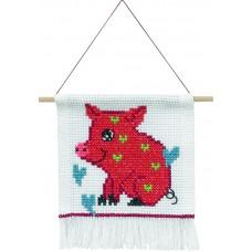 Набор для вышивания Свинка