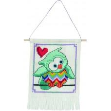 Набор для вышивания Бирюзовая сова