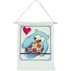 Набор для вышивания Синяя сова