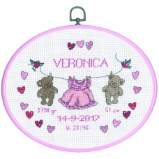 Набор для вышивания Вероника, канва Aida 14 ct