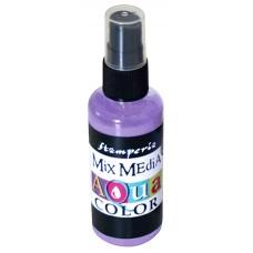 Краска - спрей Aquacolor Spray для техники Mix Media, 60 мл