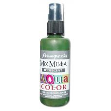 Краска - спрей Aquacolor Spray  с переливчатым эффектом для техники Mix Media, 60 мл