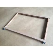 Пяльцы-рамка 30х45 см, с клипсами