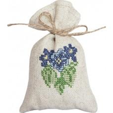 Набор для вышивания, мешочек для саше Виолы, Luca-S