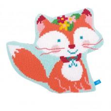 Подушка фигурная Маленький Лис набор для вышивания