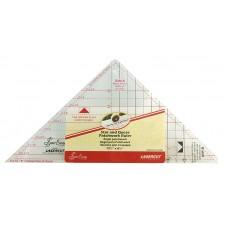 Линейка-треугольник для кроя блока «Летящие гуси» от 1 до 5