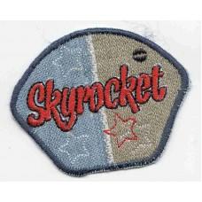 Термоаппликация HKM Эмблема Skyrocket, 1 шт