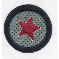 Термоаппликация HKM Красная звезда