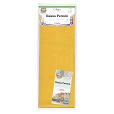 Канва в упаковке Aida 14 ct, 5,4 клетки на 1 см, цвет 273 ярко-жёлтый, 100 х 130 см