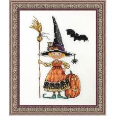 Набор для вышивания Ведьмочка