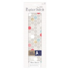 Набор тонкой бумаги для хобби Geometric Neon H, Papier Patch