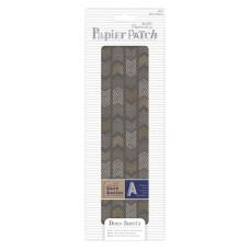 Набор тонкой бумаги для хобби - Шевроны, Papier Patch