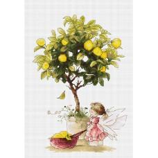 Набор для вышивания Лимоны, Luca-S
