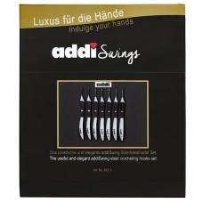 Набор крючков для вязания с эргономичной пластиковой ручкой addiSwing