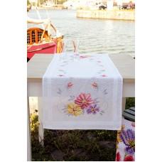 Дорожка Красочные цветы набор для вышивания