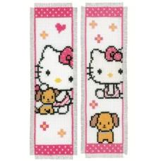 Закладка Hello Kitty набор для вышивания, 2 дизайна