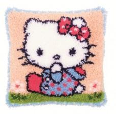 Подушка Hello Kitty, набор ковровой техники