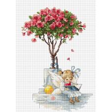 Набор для вышивания Розы, Luca-S