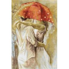 Набор для вышивания Под зонтом, Luca-S