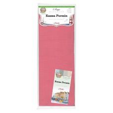 Канва в упаковке Aida 14 ct, 5,4 клетки на 1 см, цвет 272 ярко-розовый, 130 х 100 см