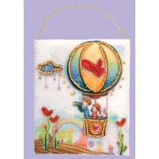 Набор для вышивания декоративных игрушек BUTTERFLY  F505 Подарочный конвертик 12х10 см