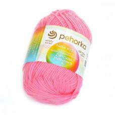 Пряжа для вязания ПЕХ Детская Новинка (100% акрил) 10х50г/200м цв.011 ярк.розовый