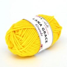 Пряжа для вязания ТРО LANA GRACE Grande (25% мериносовая шерсть, 75% акрил супер софт) 5х100г/65м цв.0123 холодный желтый