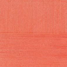 Пряжа для вязания ПЕХ Классический хлопок (100% мерсеризованный хлопок) 5х100г/250м цв.058 коралл
