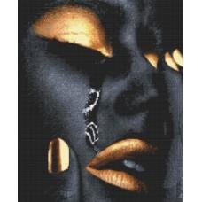 Картины мозаикой Molly KM0272 Золотая (24 цвета) 40х50 см