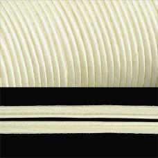 Кант TBY атласный шир.11мм цв.F102 молочный уп.65,8м