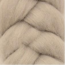 Шерсть для валяния КАМТ Лента для валяния (шерсть п/т 100%) 1х50г/2,1м цв.168 св.серый