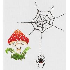 Набор для вышивания PANNA Живая картина  JK-2205 Лесная история 4,5х5,5см