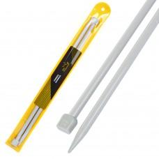 Спицы для вязания прямые Maxwell Gold (Тефлон) 6576 ?8,0 мм /35 см (2 шт)