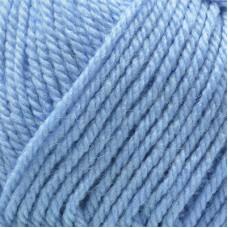 Пряжа для вязания ПЕХ Популярная (50% импортная шерсть, 45% акрил, 5% акрил высокообъёмный) 10х100г/133м цв.520 голубая пролеска
