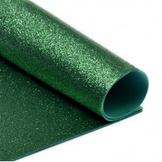 Фоамиран глиттерный Magic 4 Hobby 2 мм MG.GLIT.H005 цв.зеленый, 20х30 см