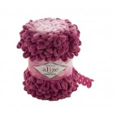 Пряжа для вязания Ализе Puffy Ombre Batik (100% микрополиэстер) 1х600г/55м цв.7426